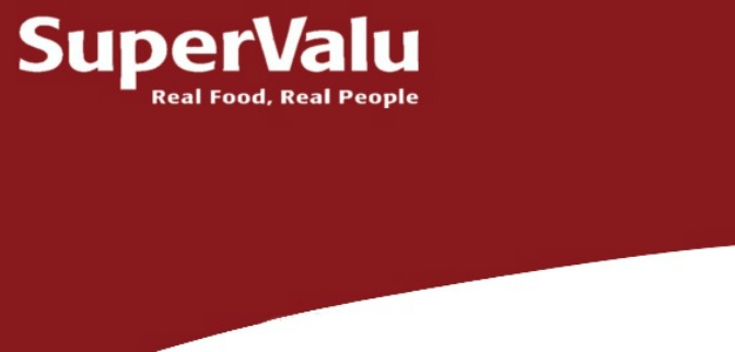 Steak and wine sale in stores at SuperValu