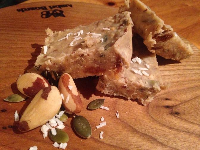 Recipe: Nutty Peanut Snack Bars