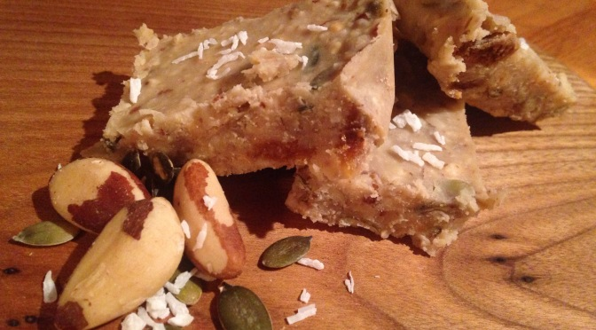 Recipe: Nutty Peanut Snack Bars