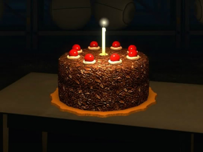 The Famous Portal Cake